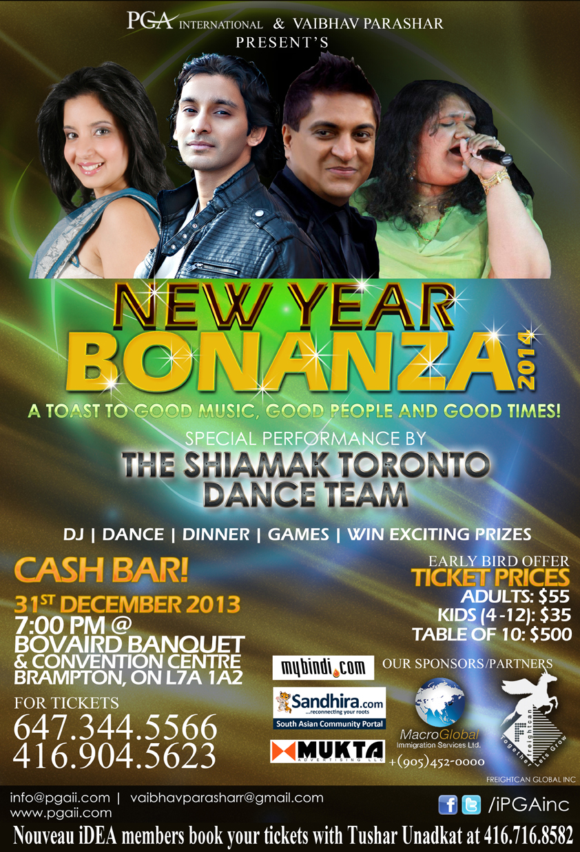 New Year Bonanza