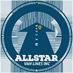 All Star Van Lines Inc. logo design by MUKTA Advertising